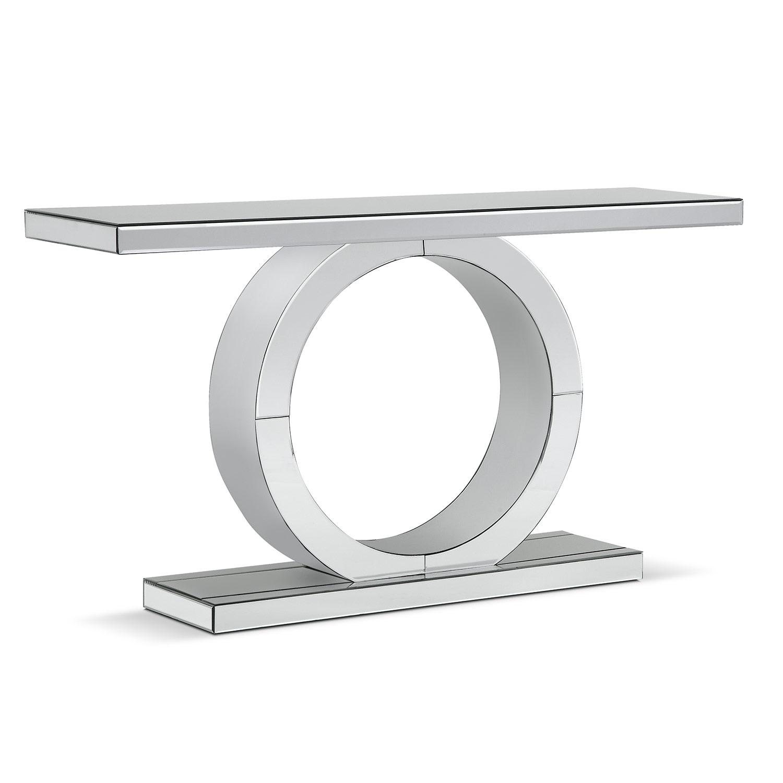 Olympia Sofa Table Mirror American Signature Furniture
