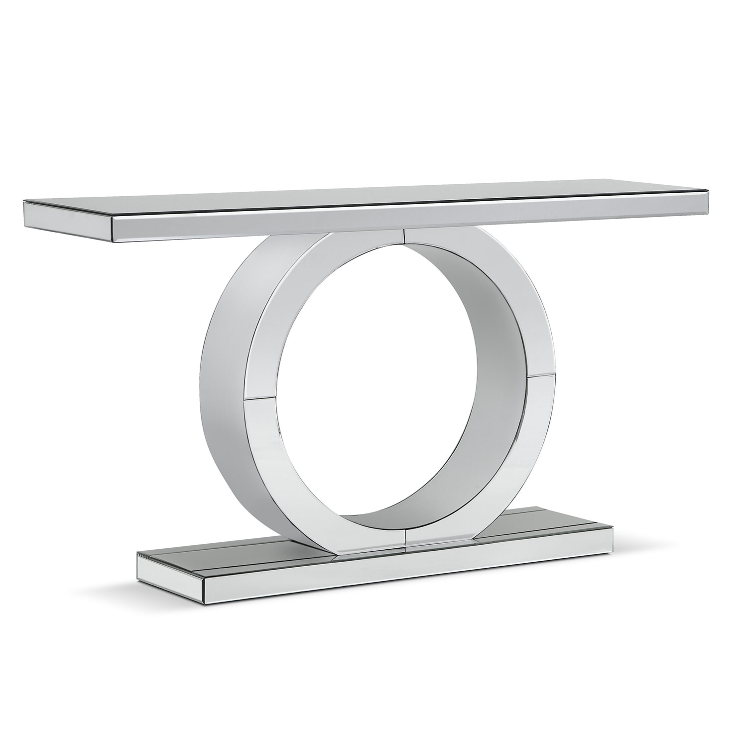 Accent And Occasional Furniture   Olympia Sofa Table   Mirror