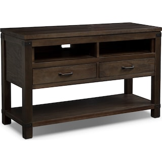 Camryn Sofa Table - Warm Cocoa