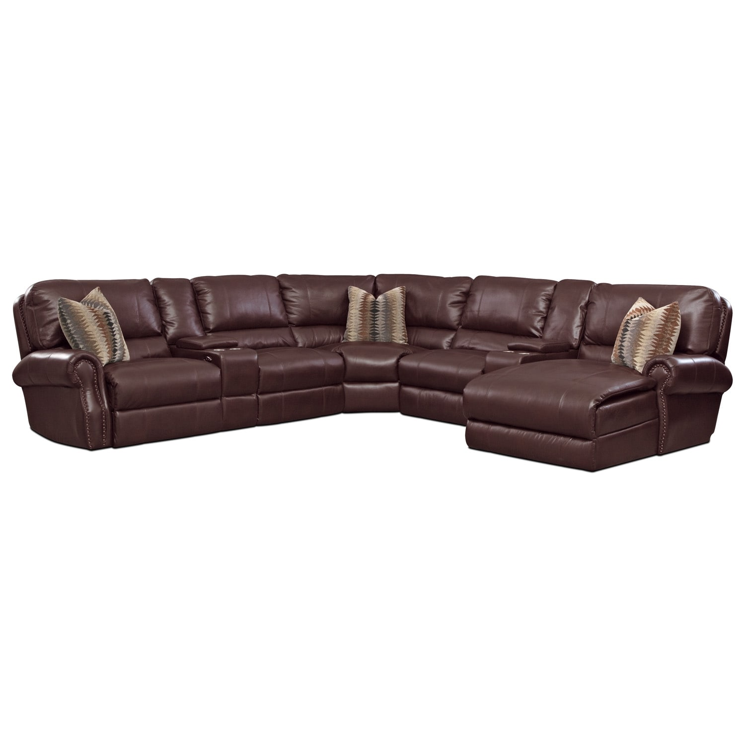 Princeton 5 Pc. Power Reclining Sectional
