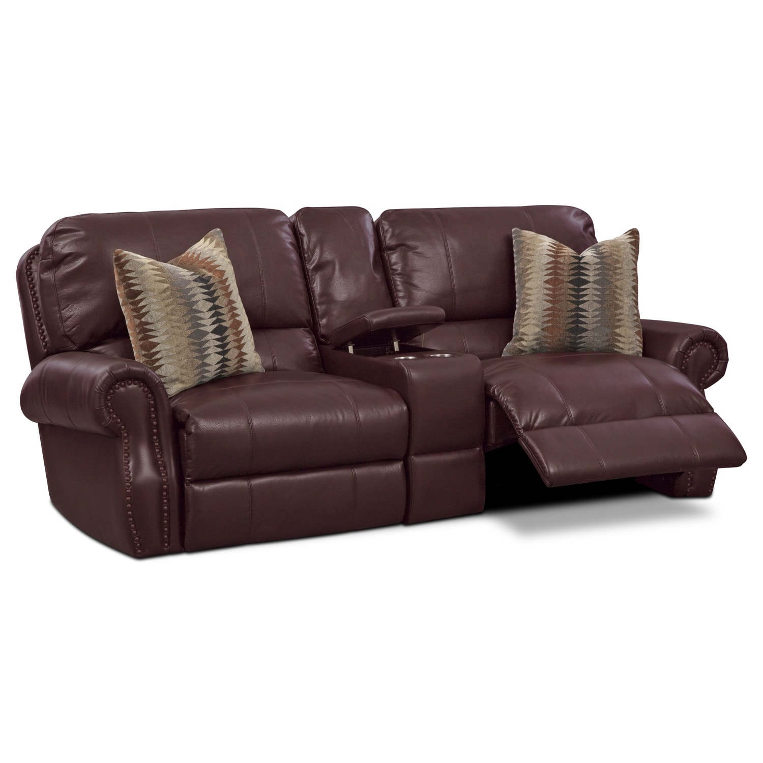 Princeton 3 Pc. Power Reclining Sofa with Console