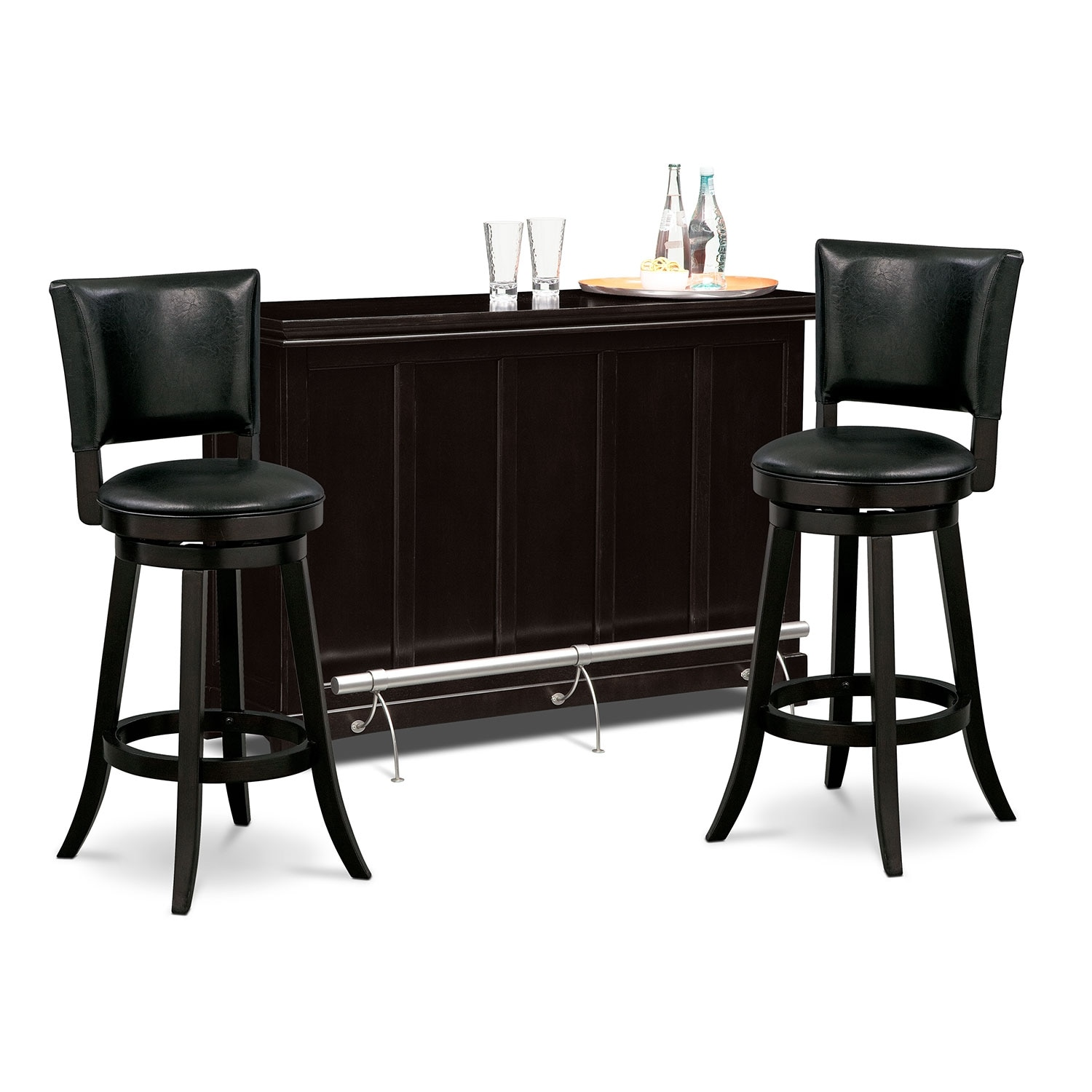 Carlton II Easton 3 Pc. Bar Set