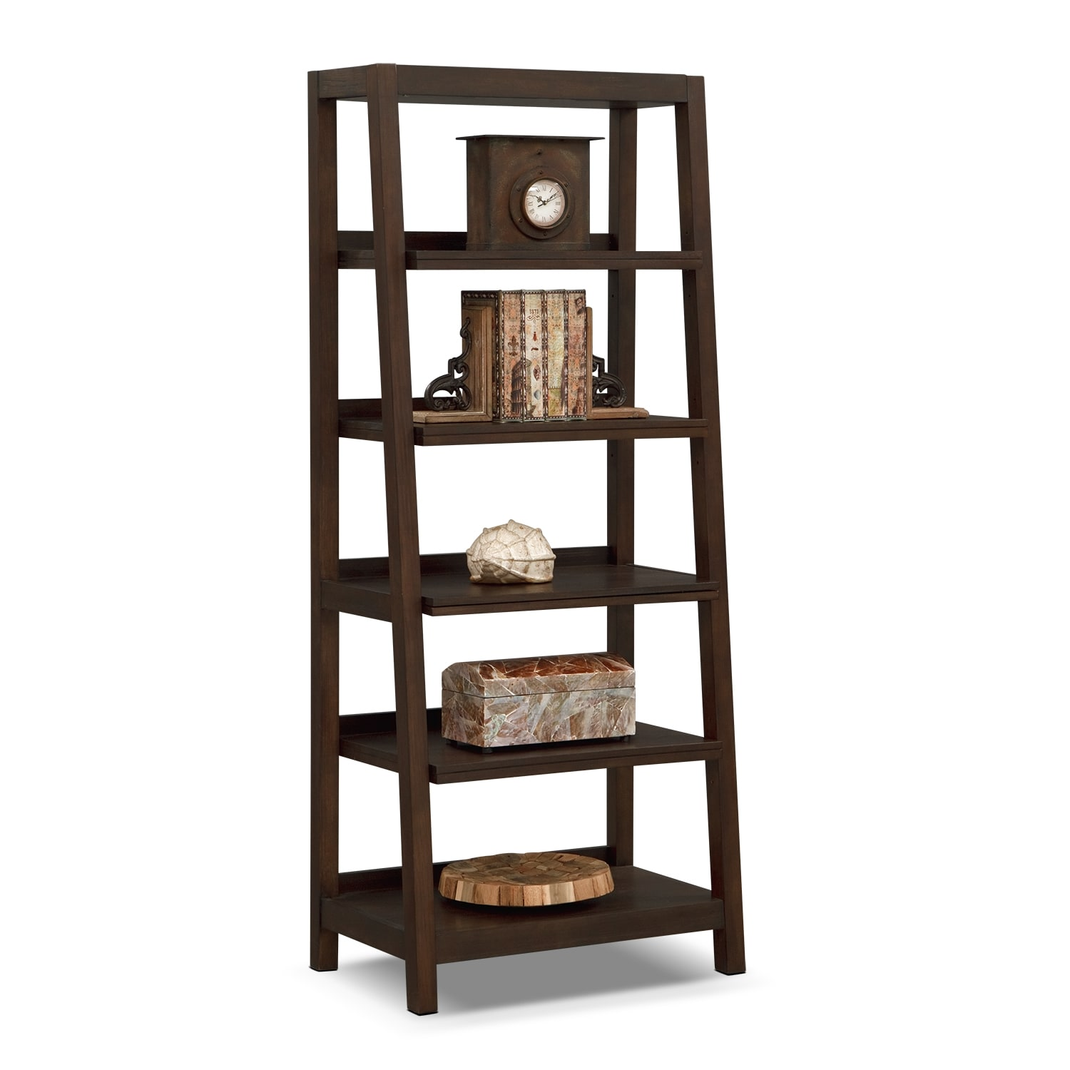 Camryn Bookcase w/ Pull Out Shelves