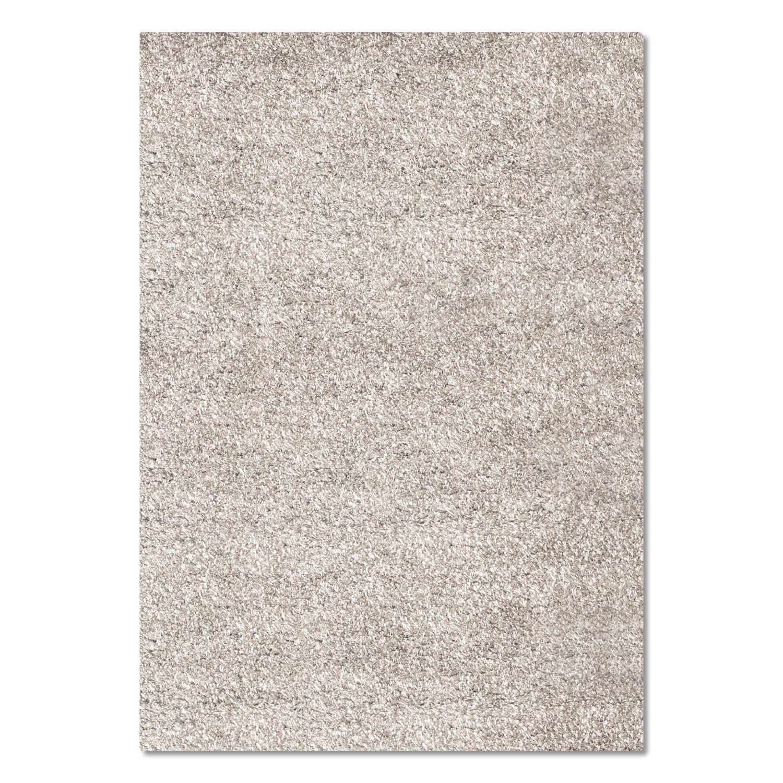 Rugs - Comfort Shag Area Rug - Light Gray