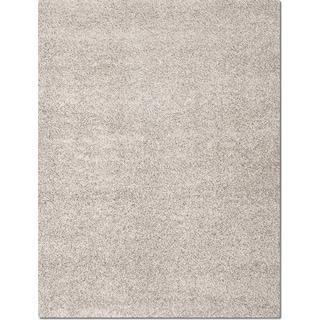 Domino Shag 8' x 10' Area Rug - Gray