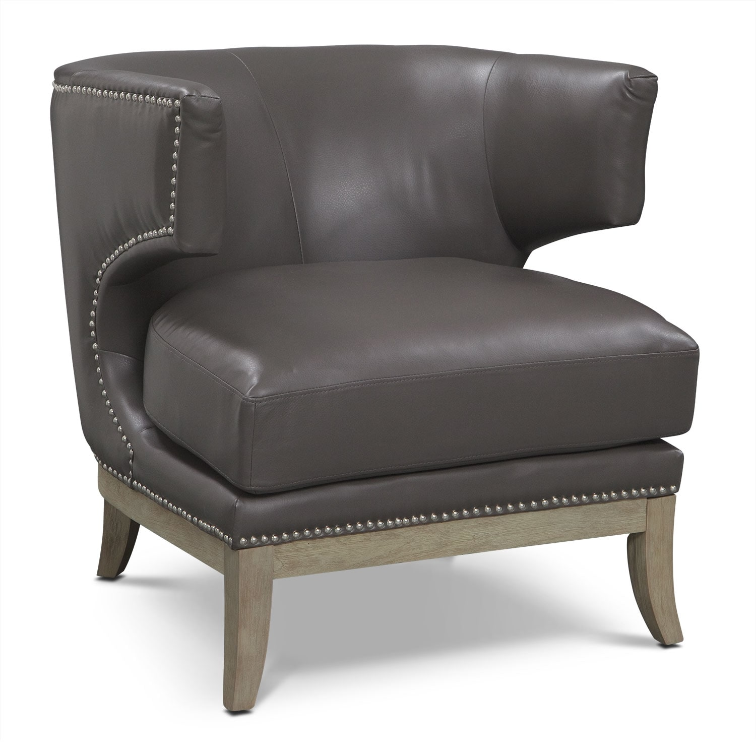 Clarise Accent Chair - Gray