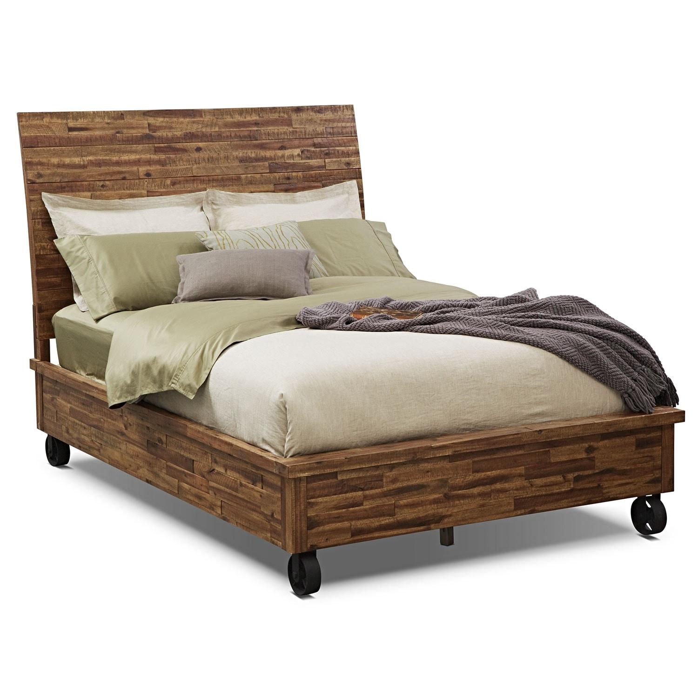 [Crosswoods Queen Bed]