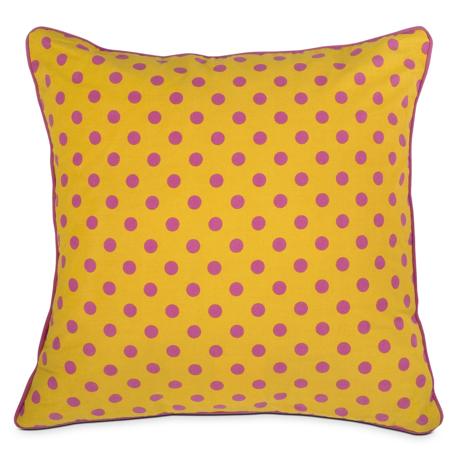 Accent and Occasional Furniture - Mandy Dot Decorative Pillow