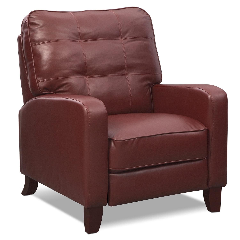 Living Room Furniture - Clinton Push-Back Recliner