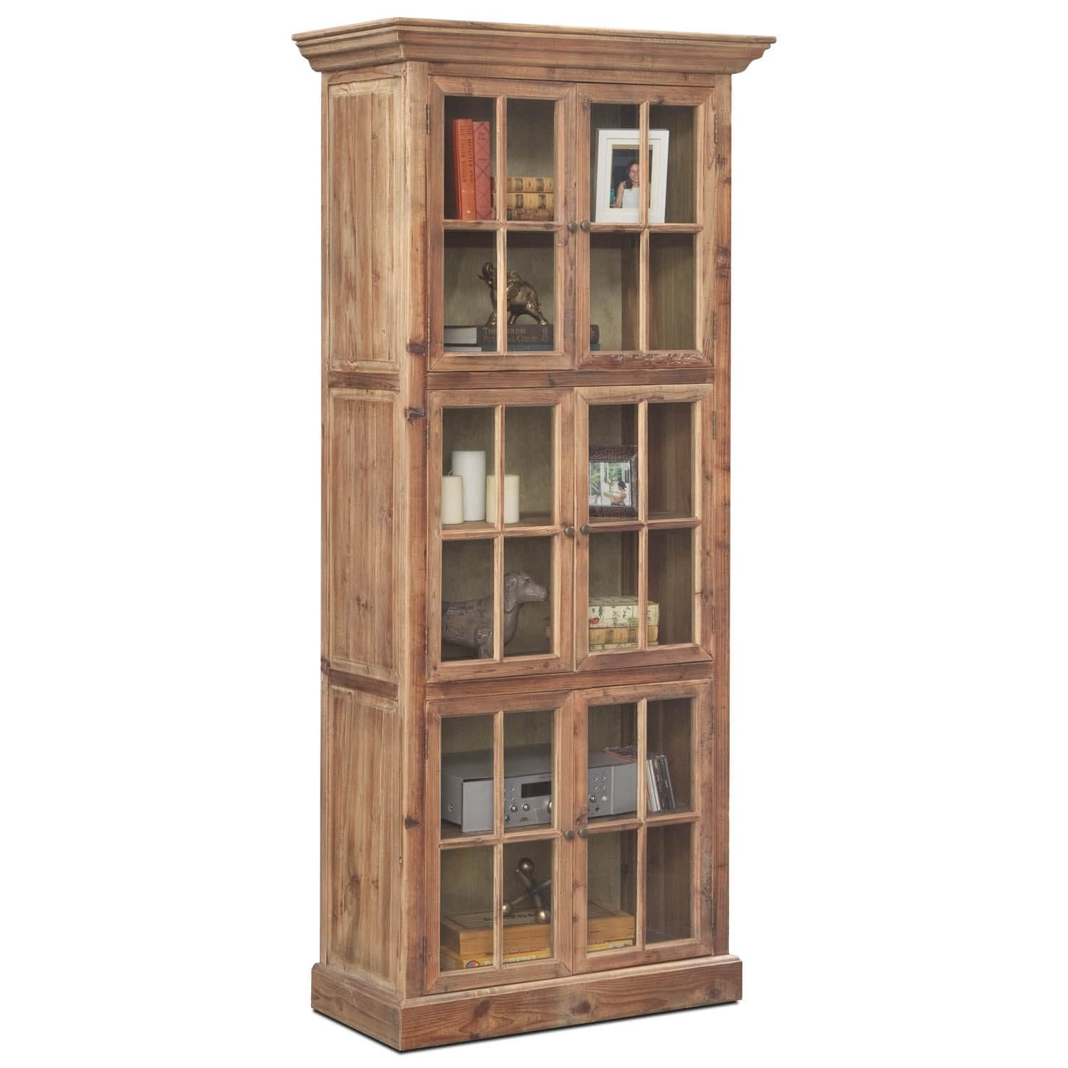 Accent and Occasional Furniture - Collins Bookcase - Natural