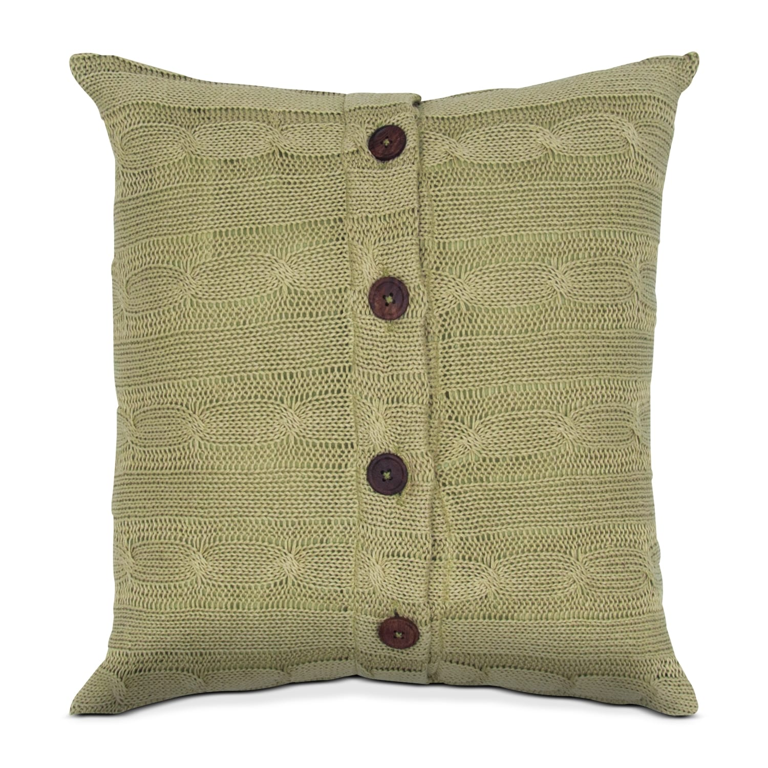 Knit Peace Decorative Pillow