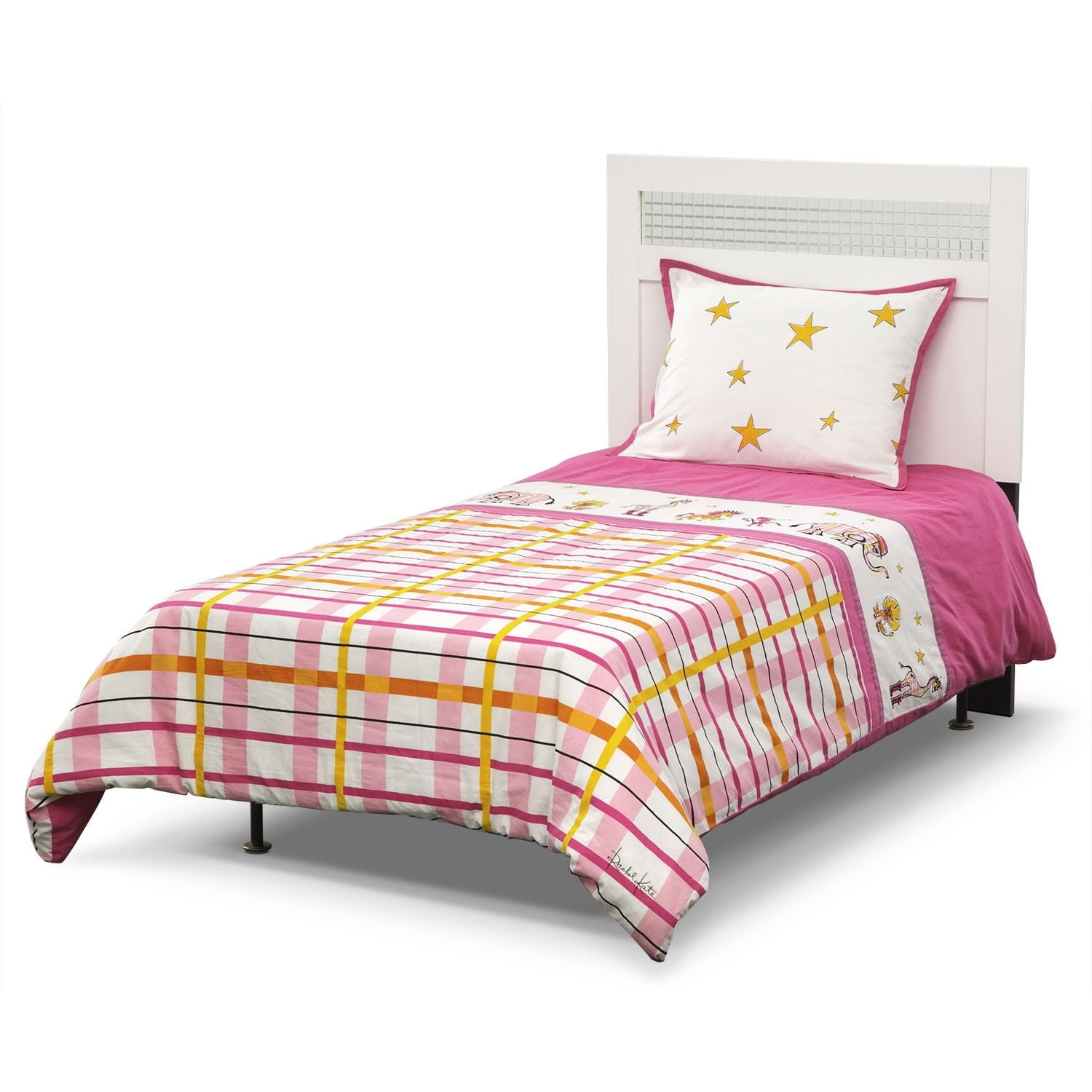 Accent and Occasional Furniture - Punky Girl Comforter Set