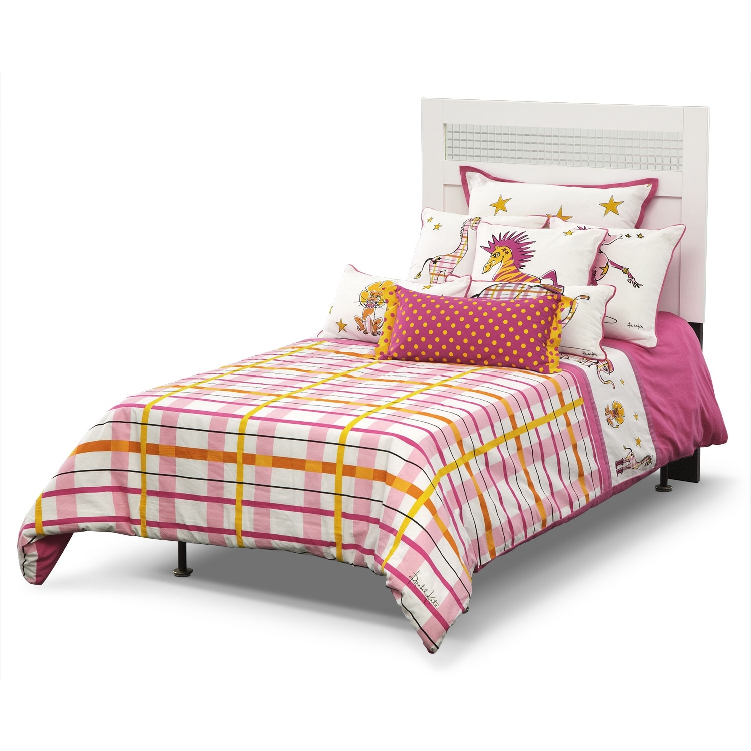 Accent and Occasional Furniture - Punky Girl Full/Queen Bedding Set