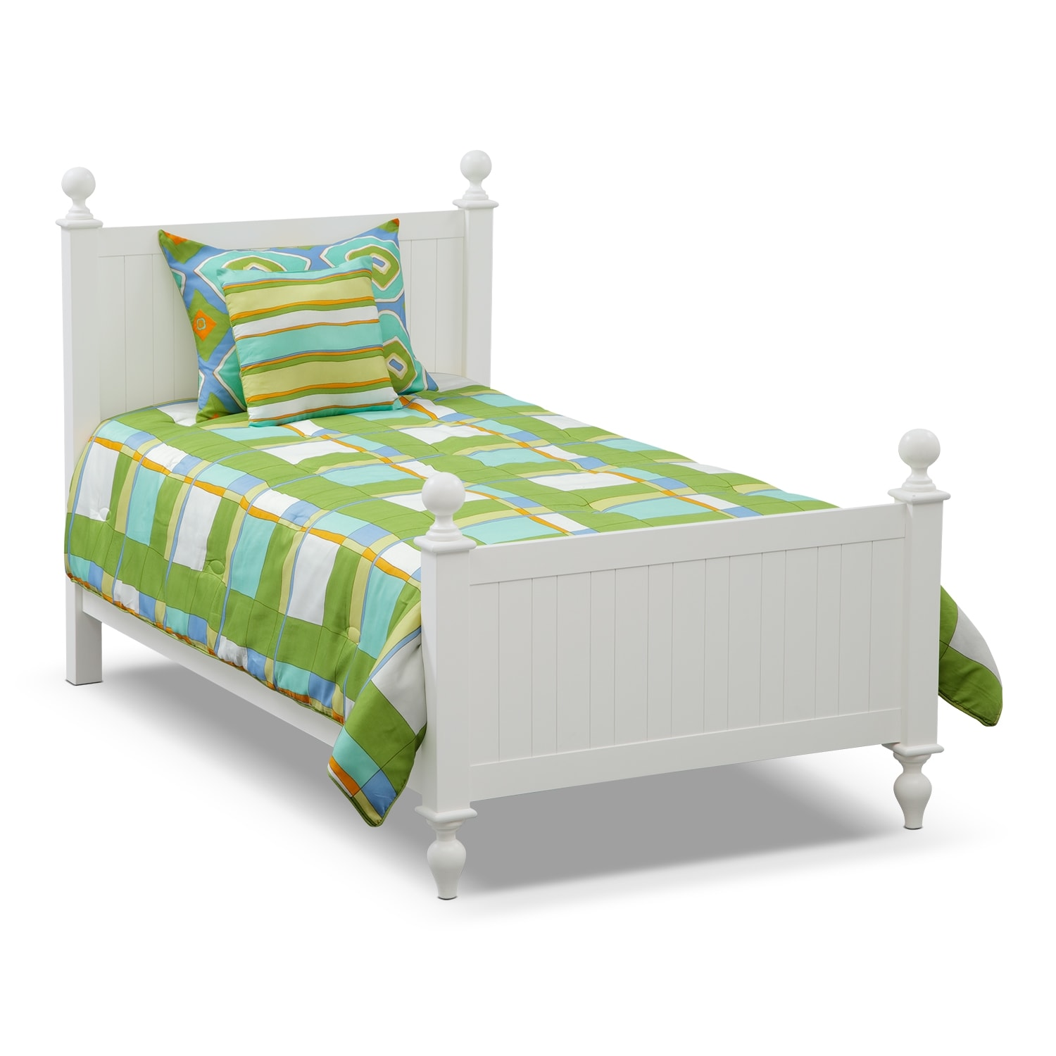 Accent and Occasional Furniture - Dillon 3 Pc. Twin Comforter Set