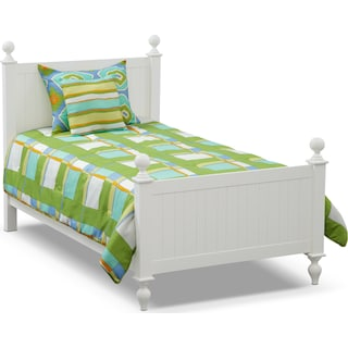 Dillon 4-Piece Full/Queen Comforter Set - Green and Yellow