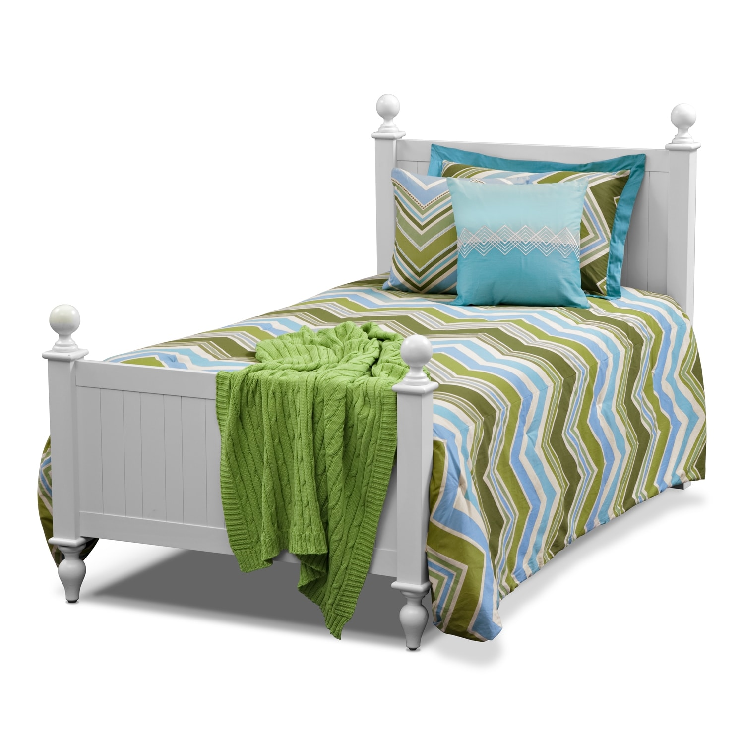 Accent and Occasional Furniture - Happy Chick Full/Queen Bedding Set