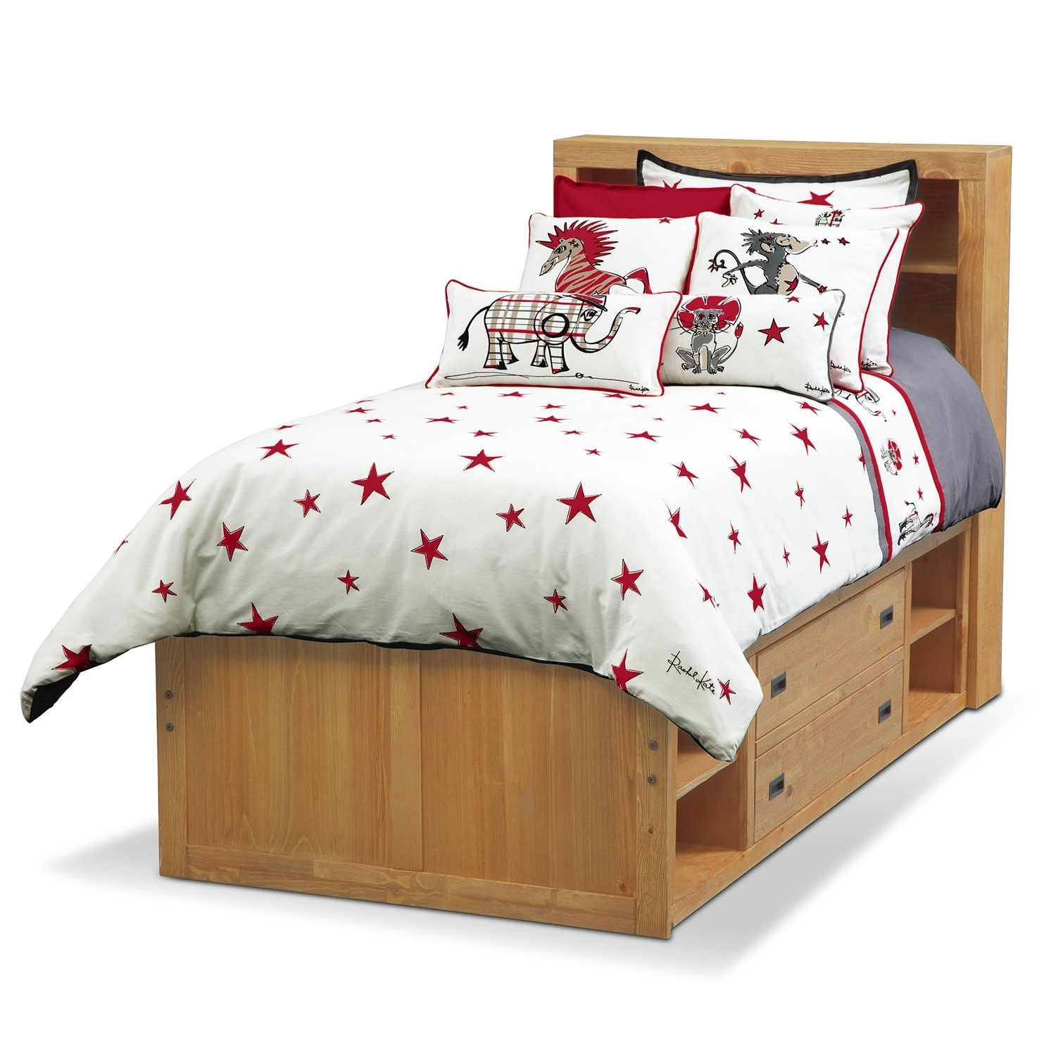 Punker Boys Twin Bedding Set