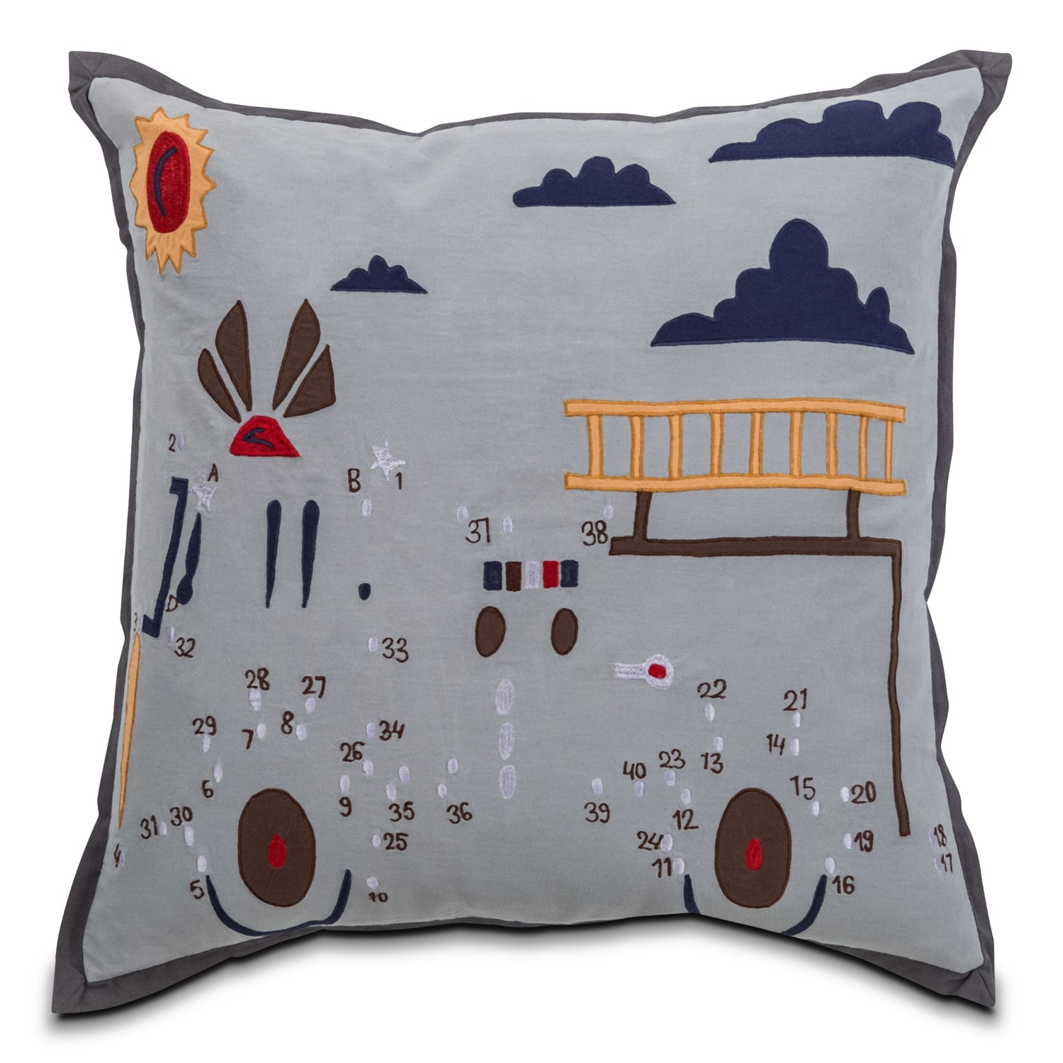 Accent and Occasional Furniture - Samuel Decorative Pillow