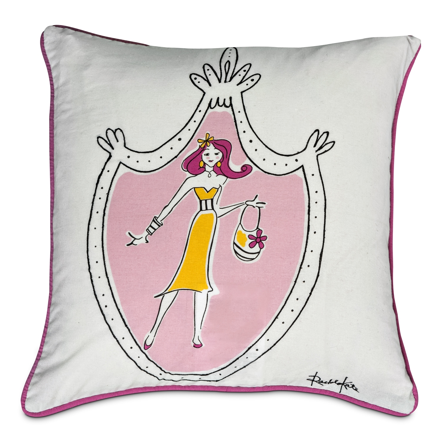 Accent and Occasional Furniture - Diva Decorative Pillow