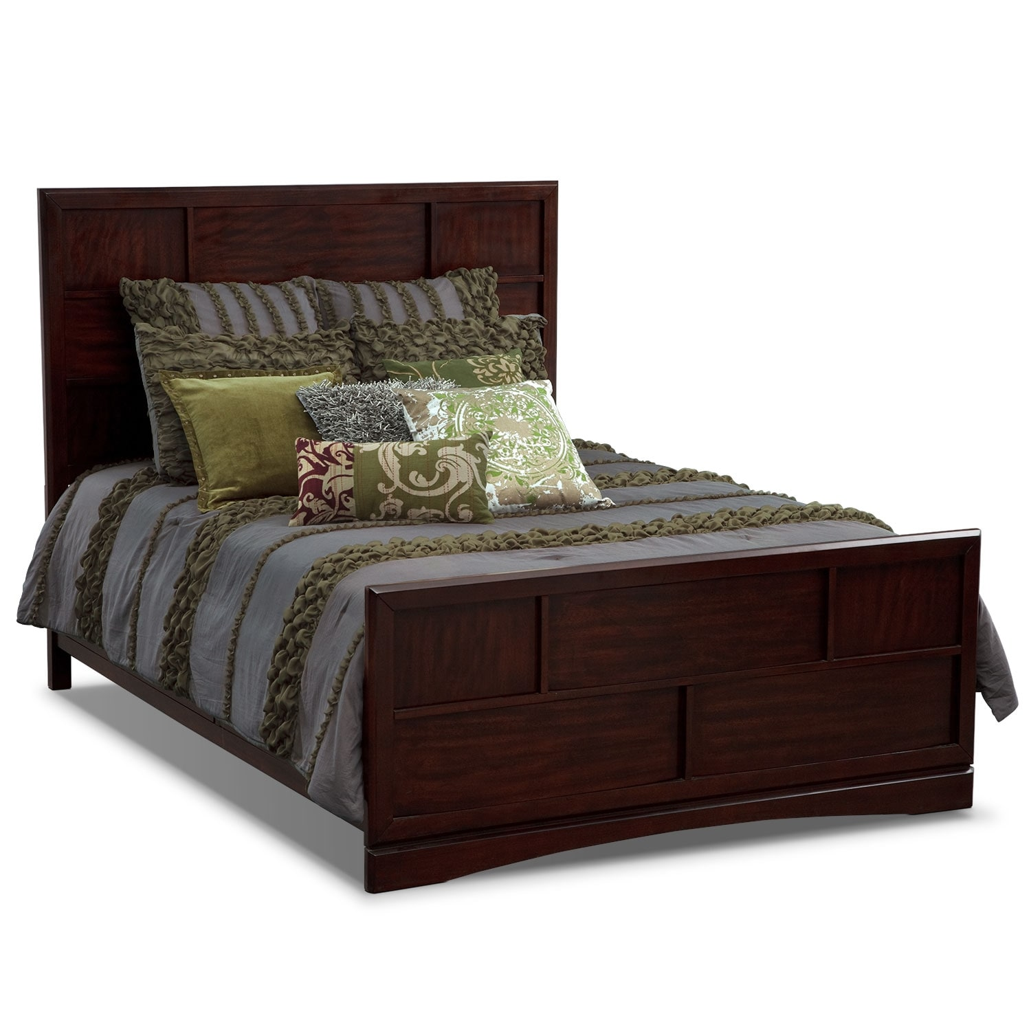 Accent and Occasional Furniture - Caroline III Queen Bedding Set