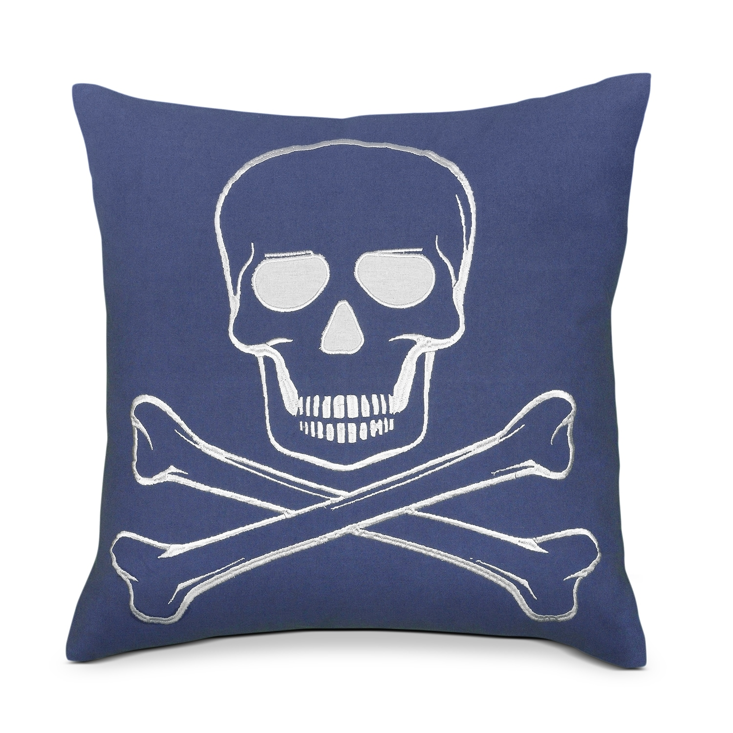 Accent and Occasional Furniture - Skull Decorative Pillow