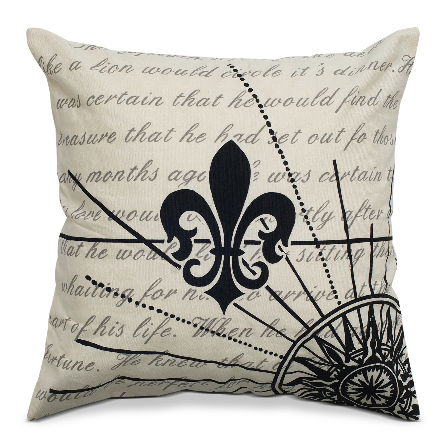Accent and Occasional Furniture - Nicky Decorative Pillow
