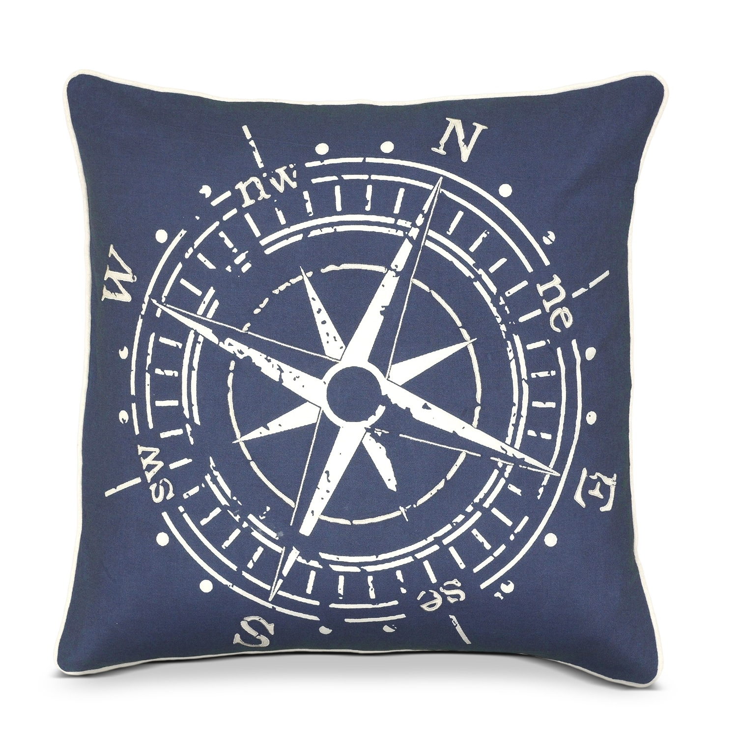 Accent and Occasional Furniture - Travel Decorative Pillow