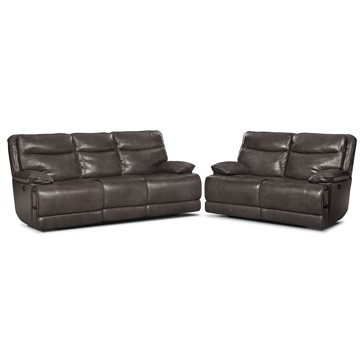 Living Room Furniture - Monaco 2 Pc. Power Reclining Living Room