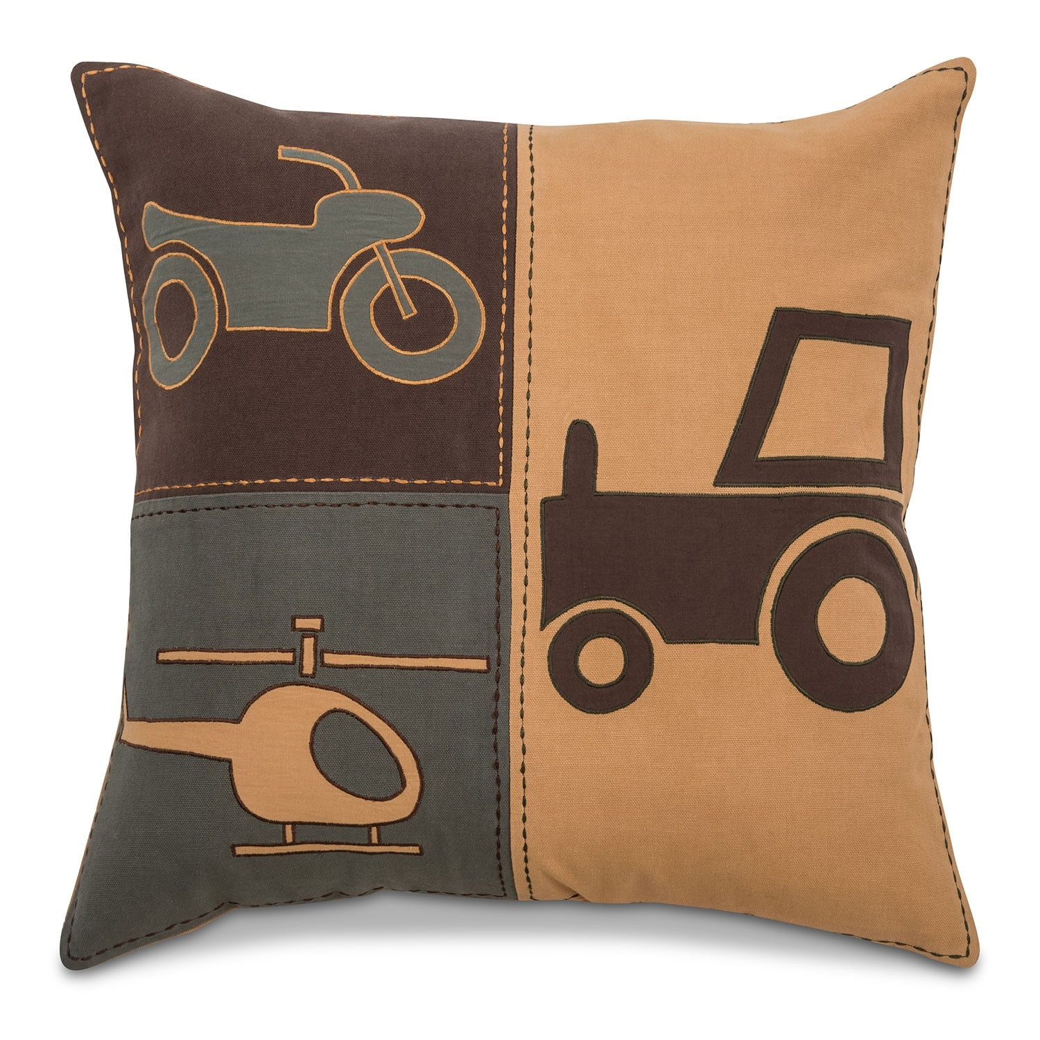Accent and Occasional Furniture - Noah Decorative Pillow