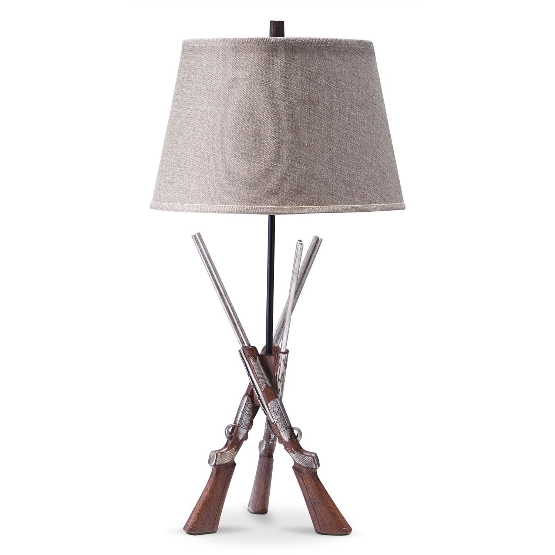 Home Accessories - Shotguns Table Lamp