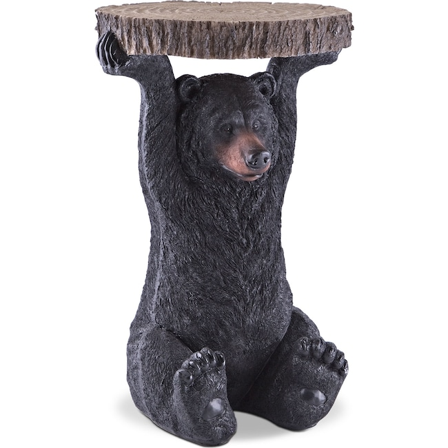 Accent and Occasional Furniture - Black Bear Accent Table