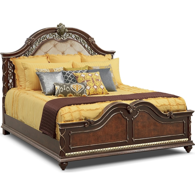 Accent and Occasional Furniture - Janice 3-Piece Queen Quilt Set - Chocolate