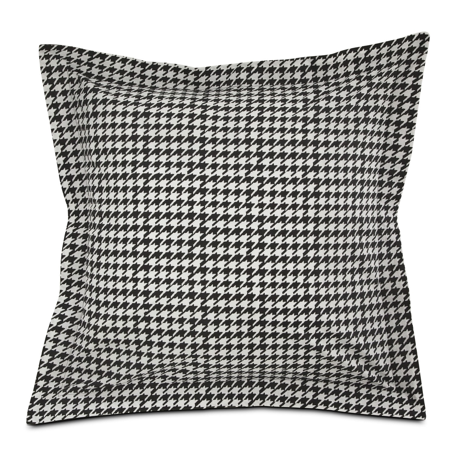 Accent and Occasional Furniture - Houndstooth Euro Sham