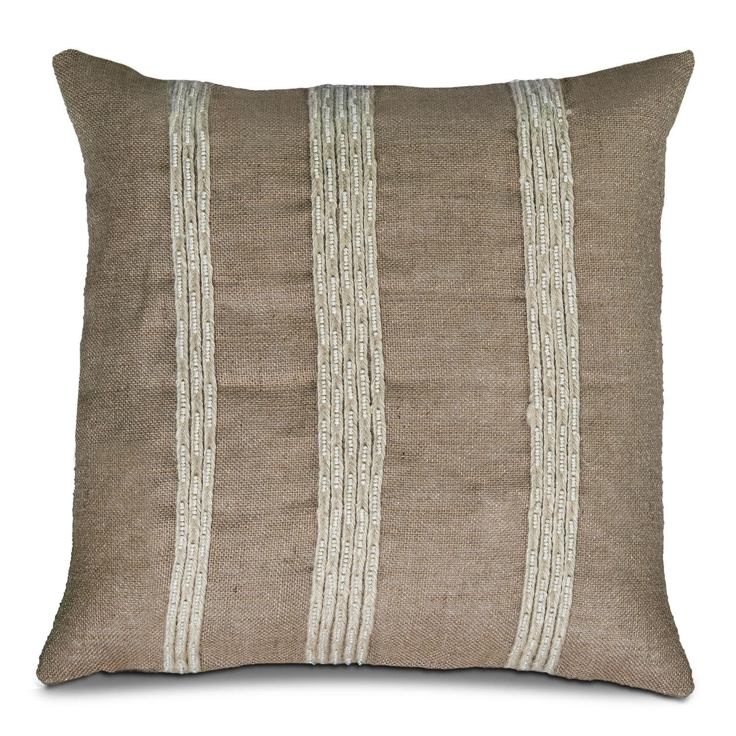 Natural Stripes Decorative Pillow