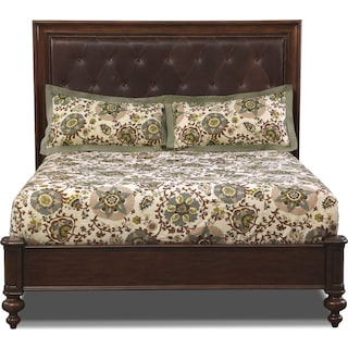Fever Pitch 3-Piece Queen Comforter Set - Ivory and Brown