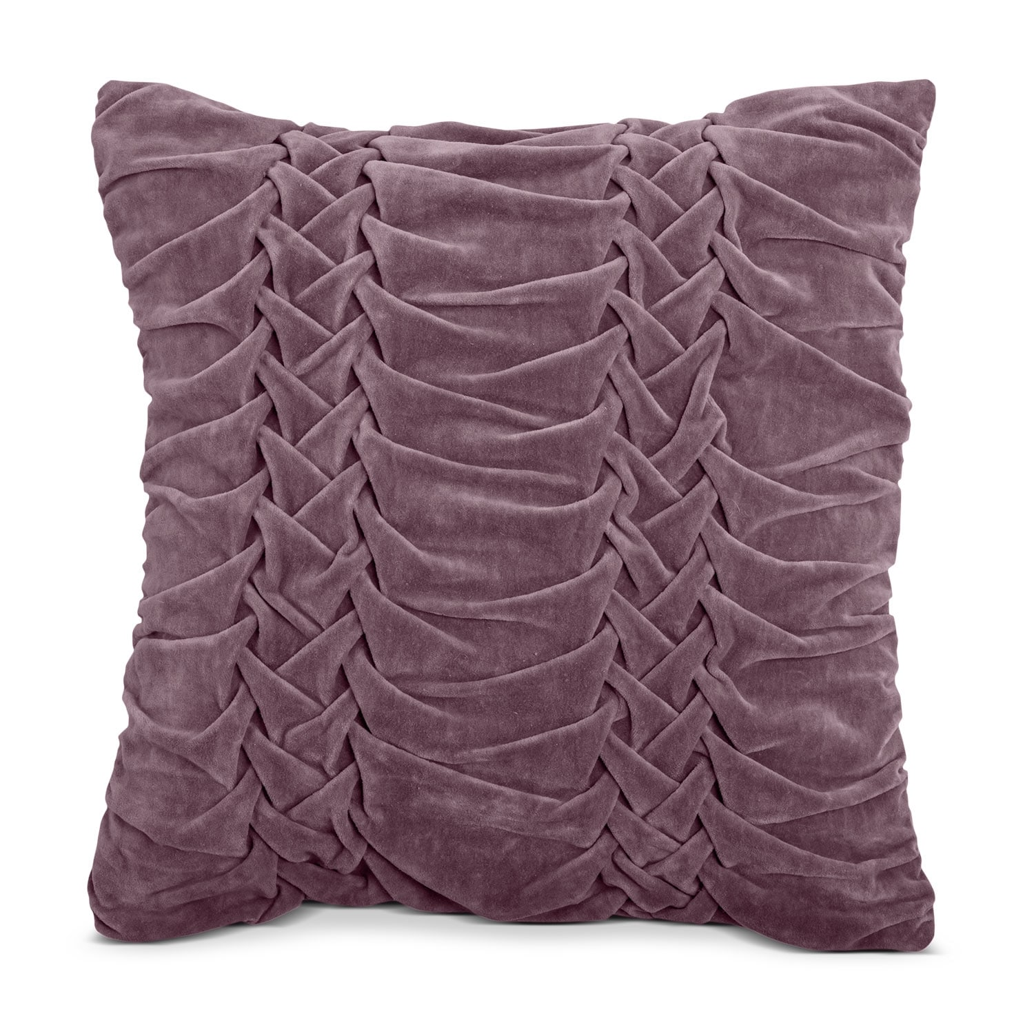 Accent and Occasional Furniture - Velvet Taupe Decorative Pillow