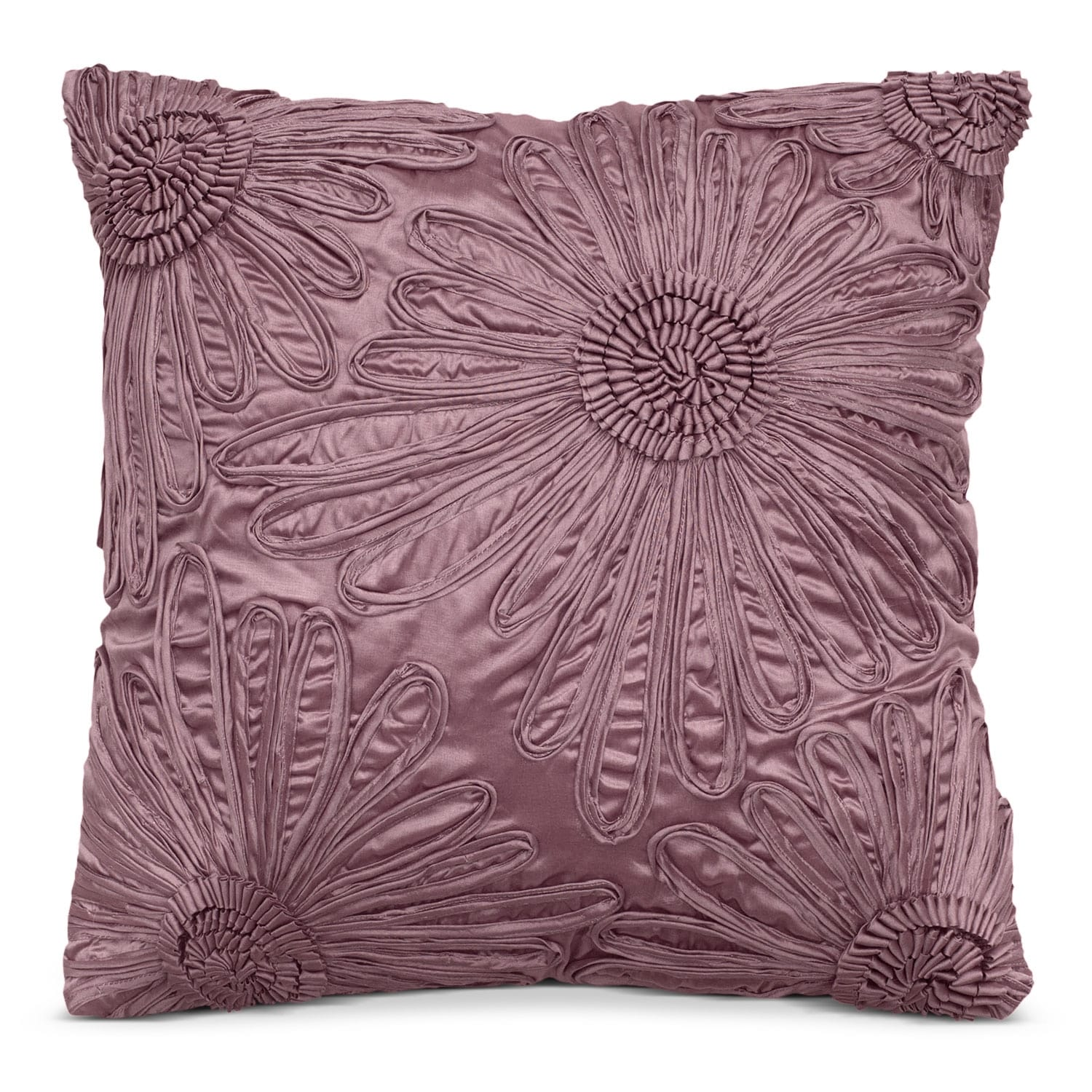 Accent and Occasional Furniture - Hush Plum Decorative Pillow