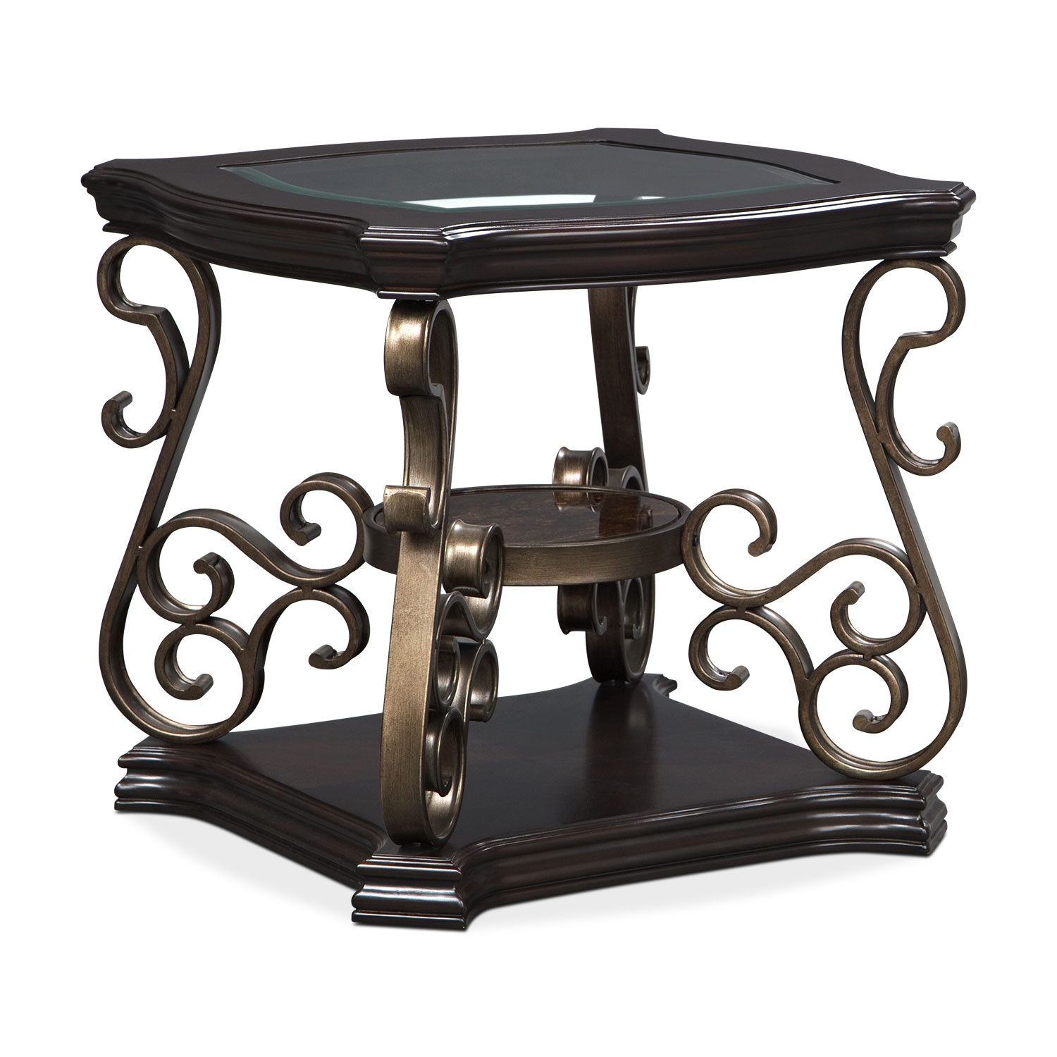 Accent and Occasional Furniture - Valencia End Table