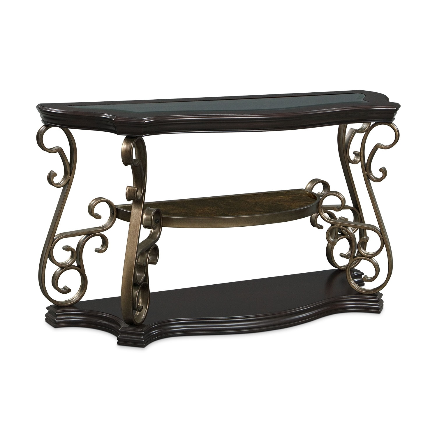 Accent and Occasional Furniture - Valencia Sofa Table - Cherry
