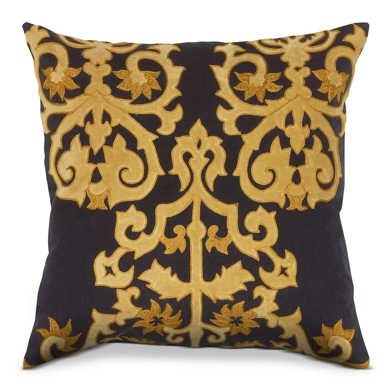Tradewind Black Decorative Pillow