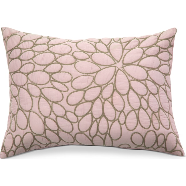Accent and Occasional Furniture - Petal Blush Quilted Sham
