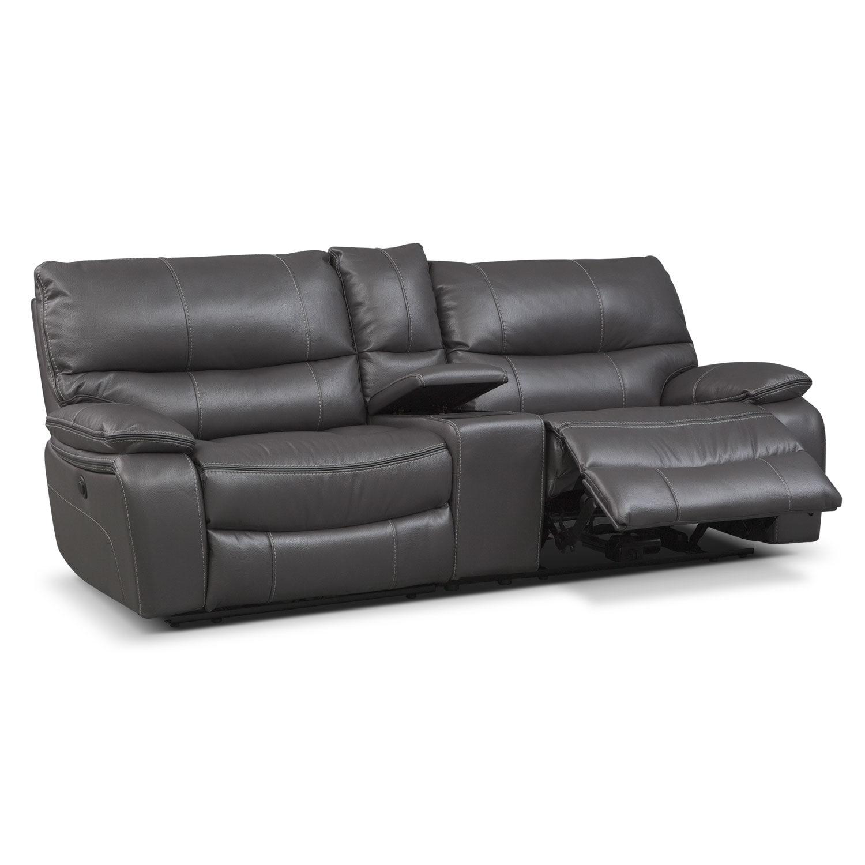 American Free Furniture Orlando: Orlando Power Reclining Sofa With Console