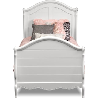Carly White Bed