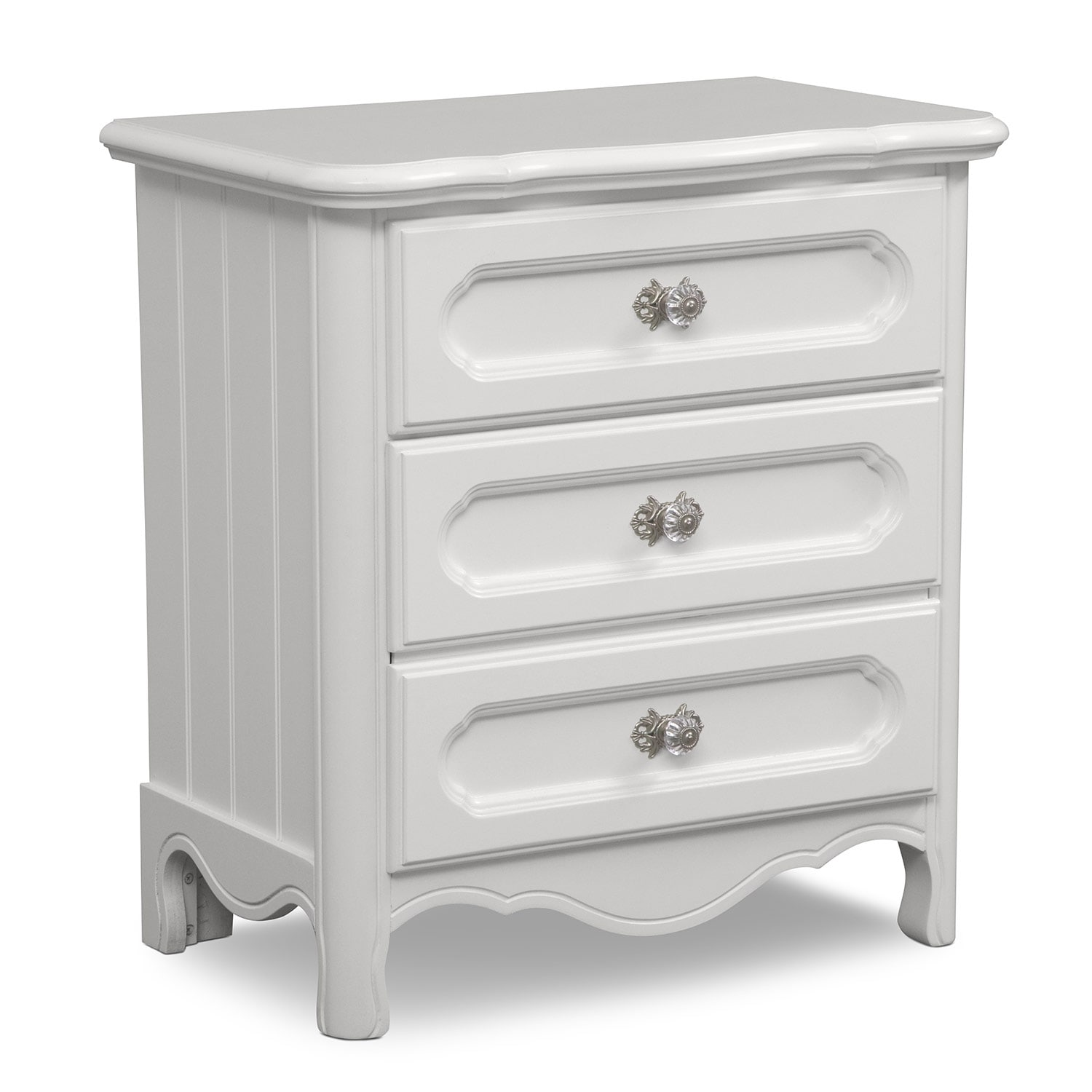 Carly Nightstand - White