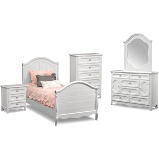 The Carly Collection - White