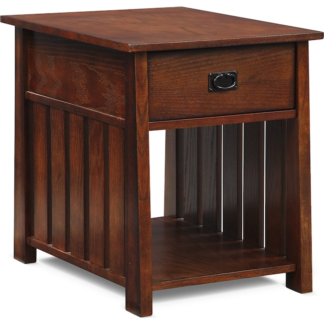 Accent and Occasional Furniture - Tribute End Table - Cherry