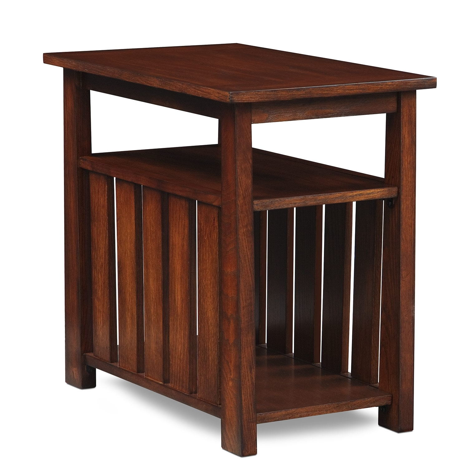 Superieur Tribute Chairside Table   Cherry
