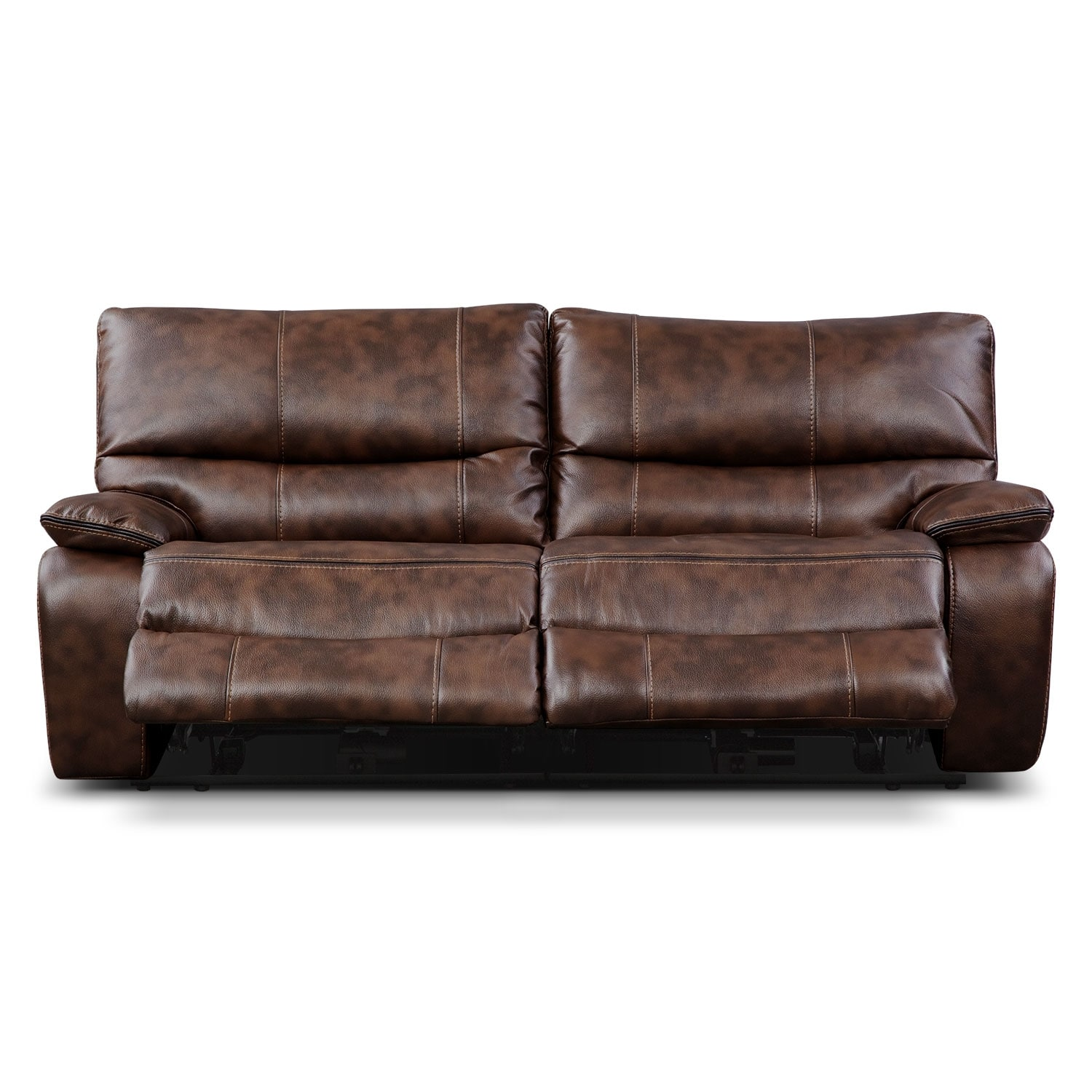 Orlando Power Reclining Sofa Brown American Signature