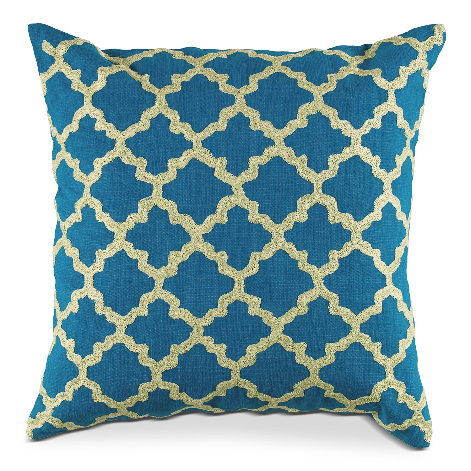 Madaline Marie Blue Decorative Pillow
