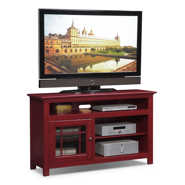 Jenson 50 Tv Stand Pine: TV Stands & Media Centers